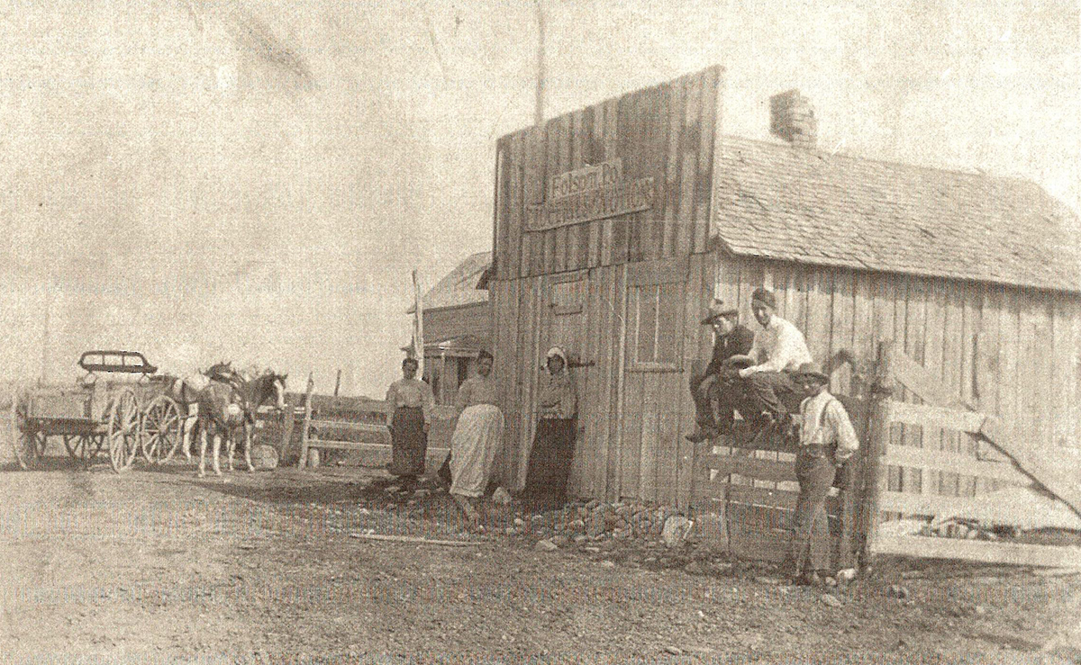 Folsom Store and Post Office 1900